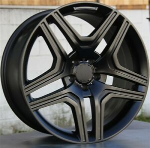 4 22x10 5x112 Wheels Tires Pkg M benz Gl Class Gl450 Ml350 Ml500 Ml550 Gl350