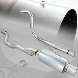 For 1995 2003 Chevy Cavalier 2 2l 4 Tip Stainless Steel Catback Exhaust Muffler