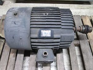 Electric Apparatus Co Red Band Ac Motor 774 78168 03 50hp 1765rpm 460v 58 5a