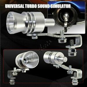 L size Fake Turbo Sound Exhaust Blow Off Valve Simulator Whistler Universal
