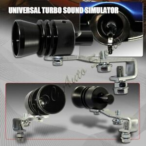 Universal Black Fake Turbo Sound Exhaust Blow Off Valve Simulator Whistler L