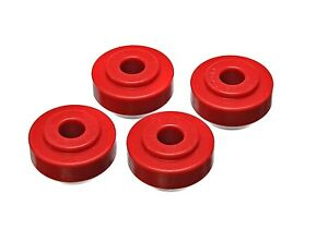 Energy Suspension 4 7113r Strut Rod Bushing Set Fits 74 80 Mustang Ii Pinto
