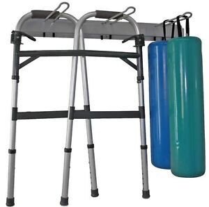 Racks 2 Universal Storage Wall mount Crutch Walker Tumble Rolls