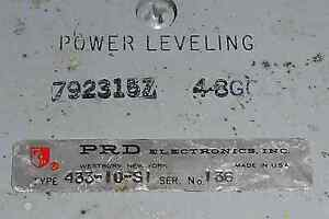 792315z Harris prd Elec Power Leveling Directional Coupler 4 8gc used