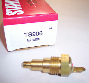 Standard Ts206 Engine Coolant Fan Temperature Switch Sending Unit In Stock