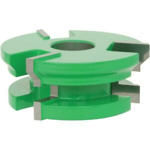 C2122 Grizzly Shaper Cutter 3 4 v Paneling Cutter Set 3 4 Bore