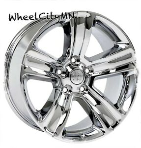 20 Inch Chrome Dodge Ram 1500 2016 2017 Oe Factory Replica Wheels 2453 5x5 5 4x