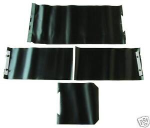 Way Cover Protective Used On Bridgeport Mills Complete Set new