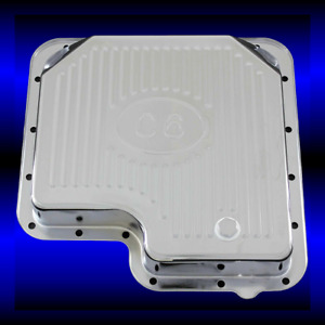 Chrome Transmission Pan For Ford C 6 Transmission Comes With Drain Plug
