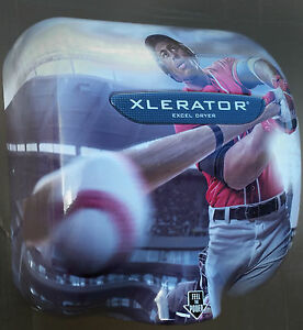 Excel Dryer Usa Made Xlerator Hand Dryer With Baseball Sports Cover 110 120v