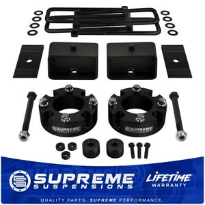 3 Front 3 Rear Lift Kit Diff Drop Shims For 2007 2020 Toyota Tundra