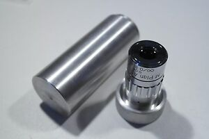 Long Seiwa Mitutoyo M Plan Apo Microscope Objective Lens Metal Box Canister