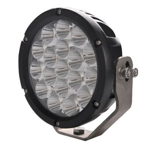 7inch 70w 7x10w Round Led Spot Driving Light Work Offroad 4wd Ute Atv Boat Lamp