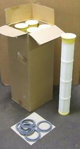 5 Ifil Tl620d 40 7 Polypropylene Inner Core Dust Collector Pleated Filter Nib