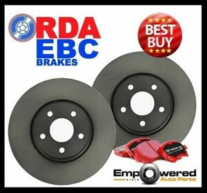 Ford Territory Turbo brembo 2008 On Rear Disc Brake Rotors Ebc Pads Rda7956