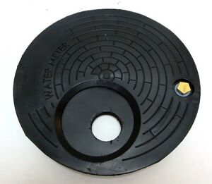 Nicor Type A Water Meter Box Cover With Recessed Hole For Neptune R 900