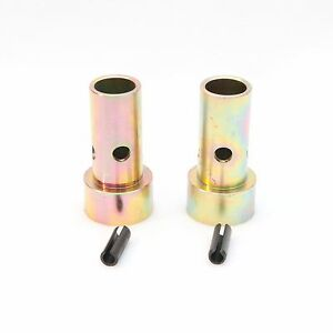 Pair Cat 2 Quick Hitch Adapter Bushings Category Ii Tractor 3 pt Bushing Set