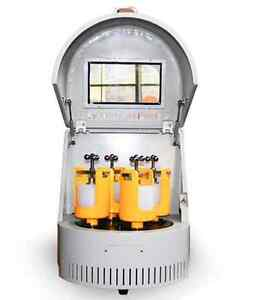 2 L Vertical Small Lab Planetary Ball Mill Machine Portable Ball Grinding Mills