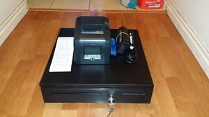 Paypalhere Pos Bundle Star Tsp654lan Receipt Printer Cash Drawer Combo