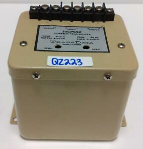 Transdata 0 5a 4 20ma 60hz Current Transducer 10cp552