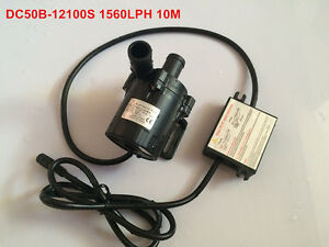 High Pressure Pumps 1560lph 10m High Lift 5 12v Dc Submersible Small Water Pump