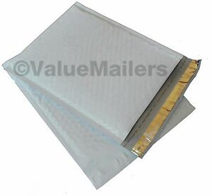 200 2 poly Bubble Padded Envelopes Mailers 8 5x12 Airjacket Brand 100