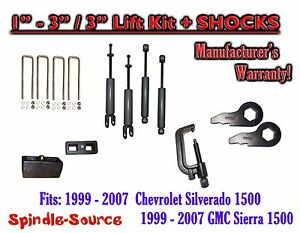 1999 2006 Chevy Gmc 1500 Silverado Sierra 1 3 Keys 3 Kit Tool Shocks