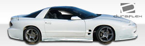 93 02 Pontiac Firebird Trans Am Duraflex Sniper Side Skirts 2pc 104149