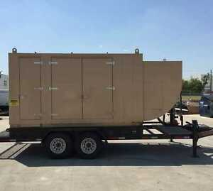 Caterpillar G3306ta Portable Natural Gas Generator Set Cold Weather Package