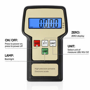 Digital Electronic Refrigerant Charging Weighing Weight Scale Hvac 220 Lbs