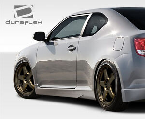 11 14 Scion Tc Duraflex X 5 Side Skirts Rocker Panels 2pc 107598