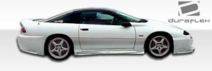 93 02 Chevrolet Camaro Duraflex Sniper Side Skirts Rocker Panels 2pc 101216