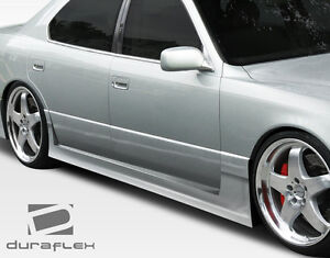 95 00 Lexus Ls Series Ls400 Duraflex Vip Side Skirts Rocker Panels 2pc 106566