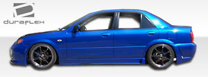 99 03 Mazda Protege Duraflex B 2 Side Skirts Rocker Panels 2pc 103272