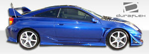 00 05 Toyota Celica Duraflex Vader Se Side Skirts Rocker Panels 2pc 100202
