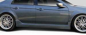 04 08 Acura Tl Duraflex K 1 Side Skirts Rocker Panels 2pc 103522