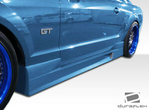 05 14 Ford Mustang Duraflex Gt Concept Side Skirts Rocker Panels 2pc 103636