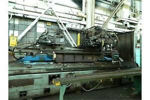 48 X 180 X 42 Thompson Surface And Way Grinder 2 Rail Heads Pl