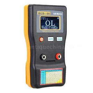 Mesr 100 Lcd Professional Esr Capacitance Ohm Meter 100khz In Circuit Tester