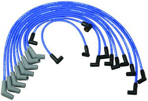 Ford Racing 9mm Blue Ignition Wire Set 5 8l 5 0l 351w 302 New Spark Plug Wires