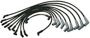 Ford Racing 9mm Black Ignition Wire Set 5 8l 5 0l 351w 302 New Spark Plug Wires