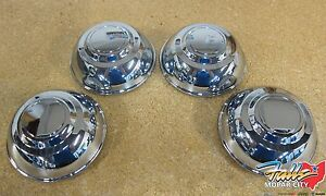 2006 2019 Chrysler 300 Dodge Charger Chrome Police Package Center Caps Mopar Oem