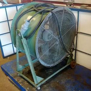 Industrial Air Fan Blower 074 032 Wheels wks