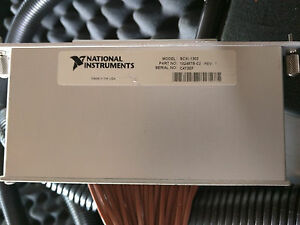 National Instruments Scxi 1303 32 Ch Terminal Block Wired To Remote Input Panel