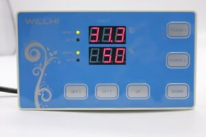220v Digital Temperature And Humidity Controller Incubator Thermostat W Sensor