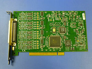 National Instruments Pci 4351 Ni Daq Card Precision Temperature Voltage Meter