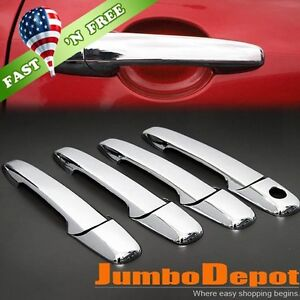Us Triple Chrome Door Handle Cover Trims For Mazda 3 5 6 Cx 7 Cx 9 Rx 8 Bt 50