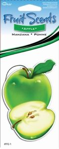 Paper Fresh Apple Hanging Tree Style Air Freshener For Car Truck Home Etc