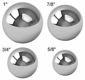 Assorted Coin Ring Making Steel Balls Assortment Of 1 7 8 3 4 5 8