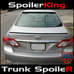 244l Toyota Corolla 2011 13 Rear Trunk Add On Lip Spoiler Wing Usa Urethane